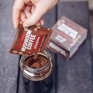 Kết quả hình ảnh cho Mushroom Coffee vs. Regular Coffee