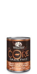 wet dog food, 5.5 oz, canned dog food, dog food topper, Wellness, CORE