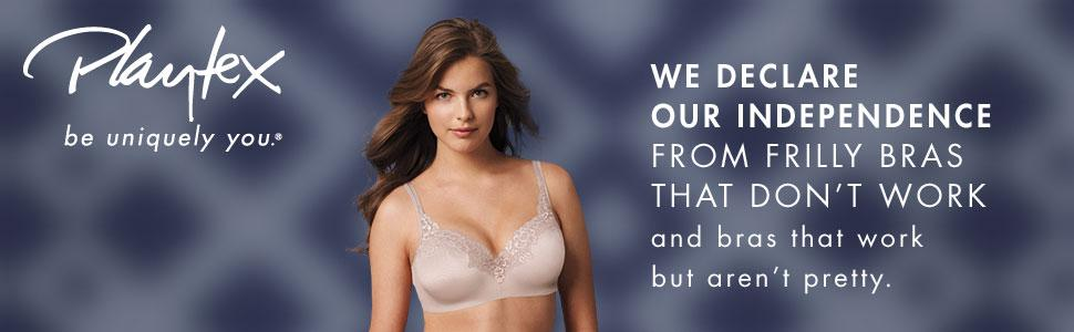 3f405c1dc Playtex Women s 18 Hour Ultimate Lift and Support Wire Free Bra at ...