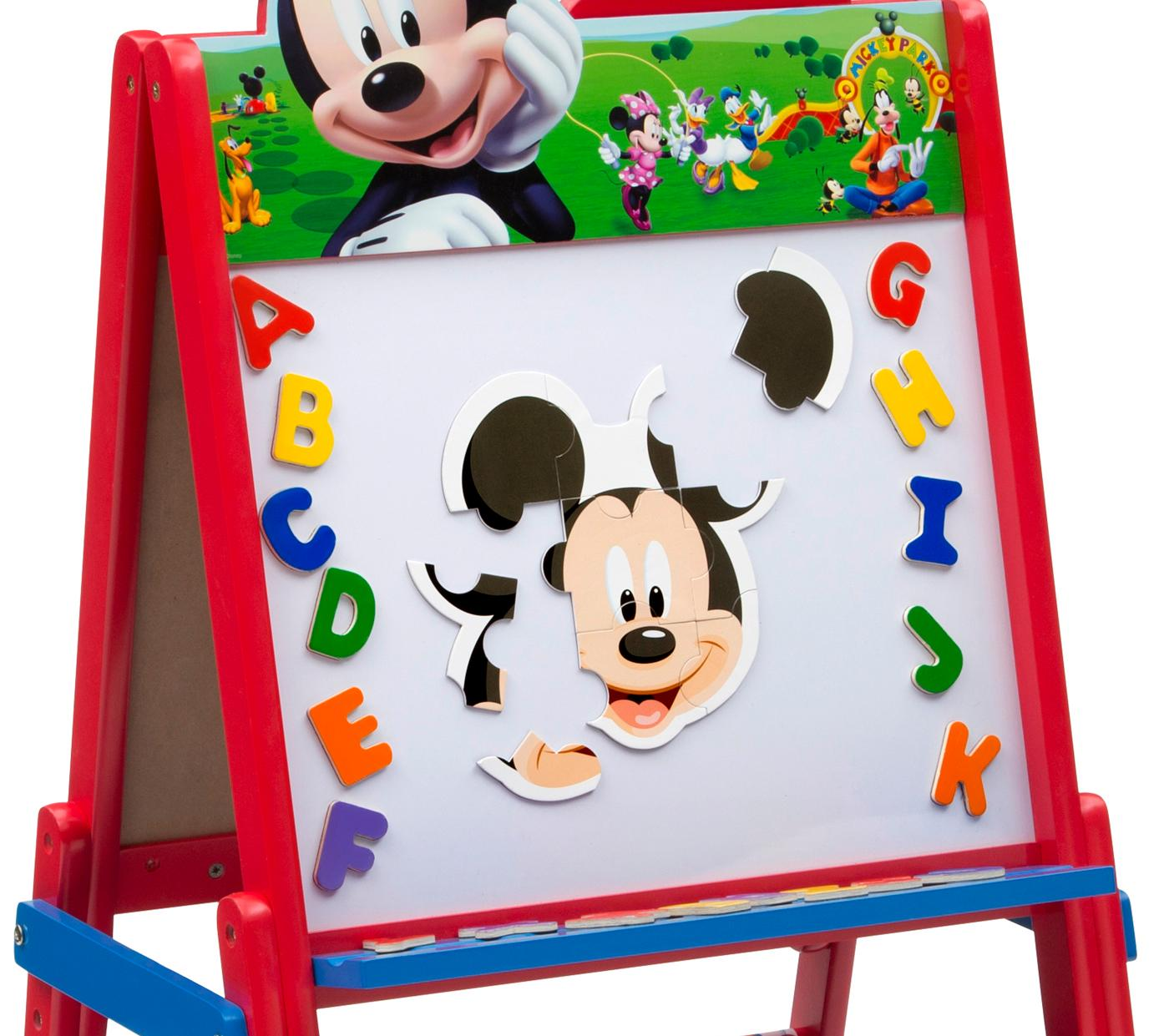 Delta children disney wooden double sided for Amazon arts and crafts for kids
