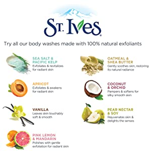 St. Ives: Dedicated to Natural Ingredients