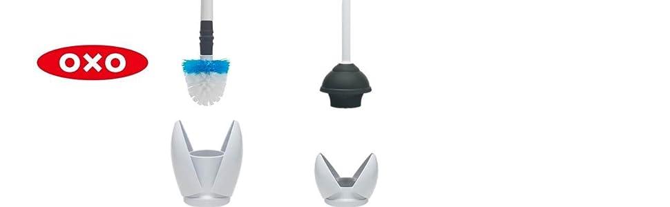 Amazon Com Oxo Good Grips Hideaway Compact Toilet Brush