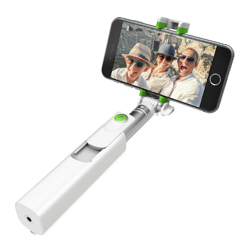 iottie migo mini selfie stick gopro pole with detachable bluetoot. Black Bedroom Furniture Sets. Home Design Ideas
