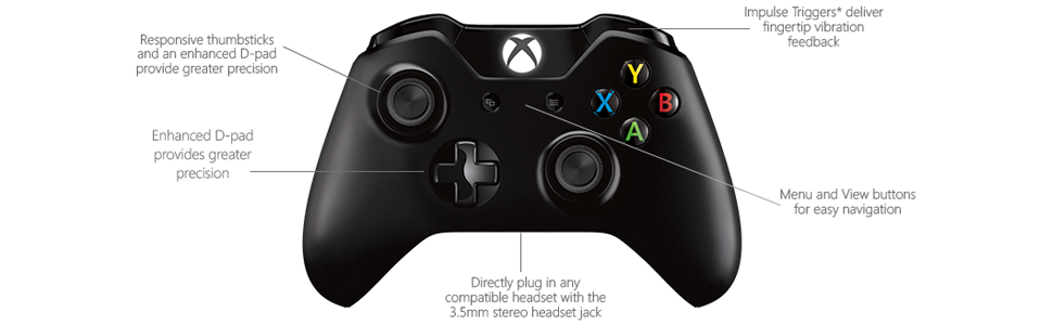 Amazon.com: Xbox One Wireless Controller [Without