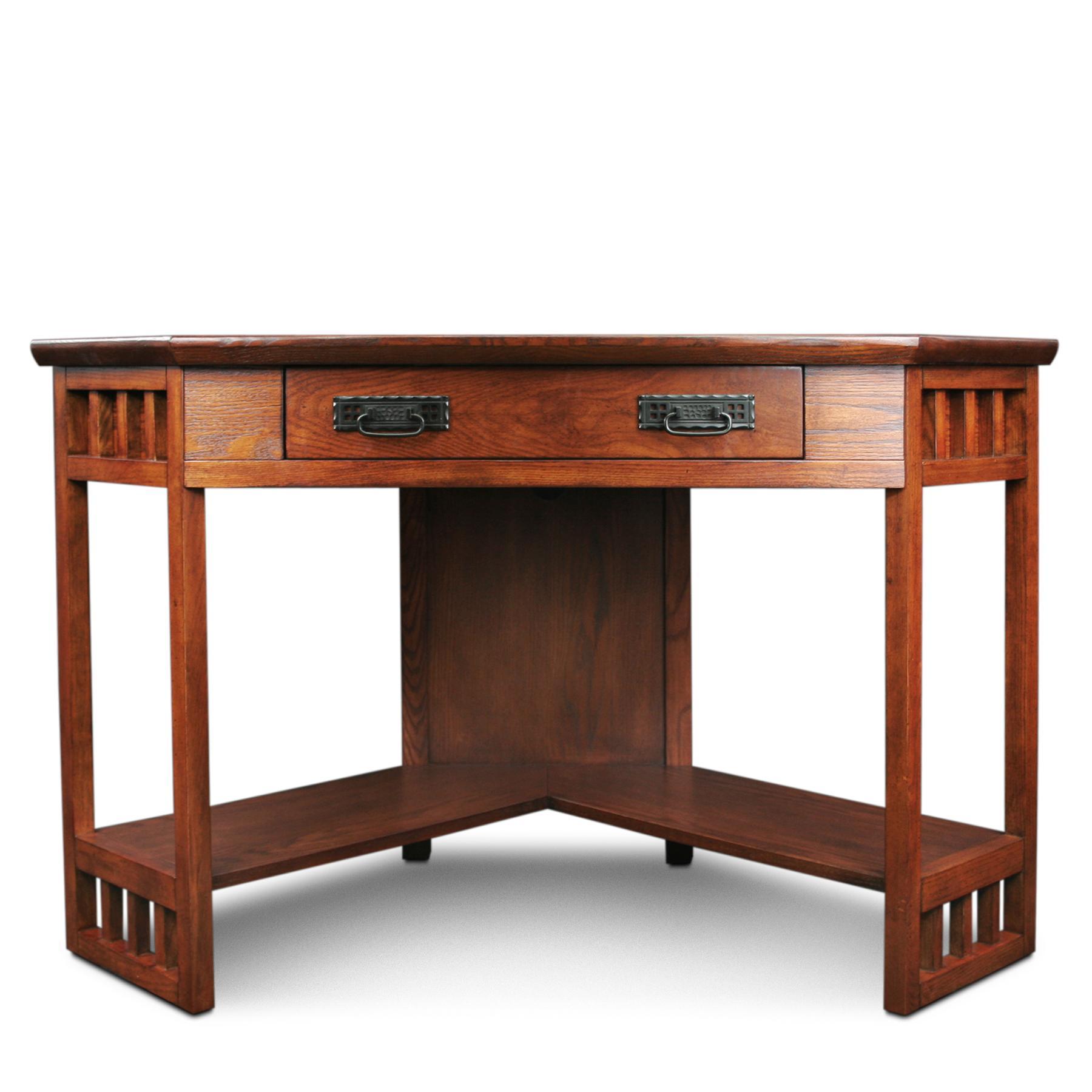 Amazon Com Leick Corner Computer And Writing Desk
