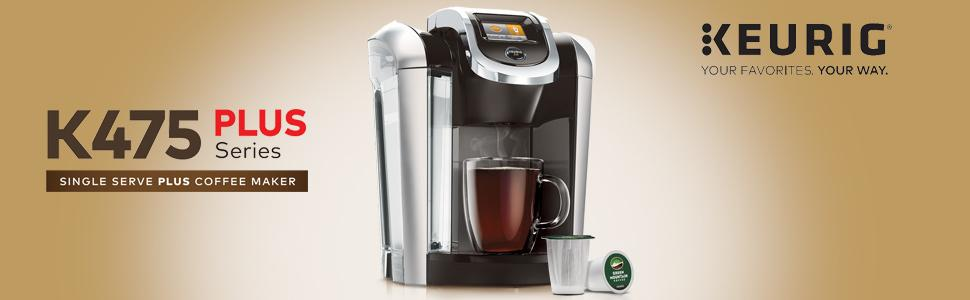 Keurig K475 Coffee Maker, single serve coffee machine, coffeemaker, coffeemachine, K475