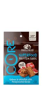 superfood dog treats, dog treats, high protein dog treats, Wellness, CORE, grain-free, high-protein