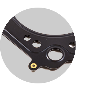 Multi-layer steel head gasket