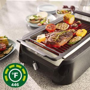 Amazon.com: Philips Smoke-less Indoor Grill HD6371/94: Kitchen ...