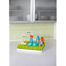 ... Lawn Countertop Drying Rack Green : Baby Bottle Drying Racks : Baby