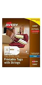 Avery printable tags