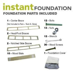 Amazon Com Classic Brands Instant Foundation Low Profile