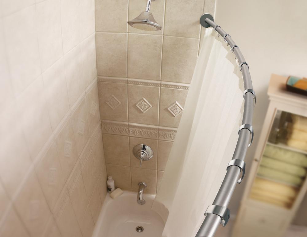 moen csr2145bn 5 foot curved shower rod