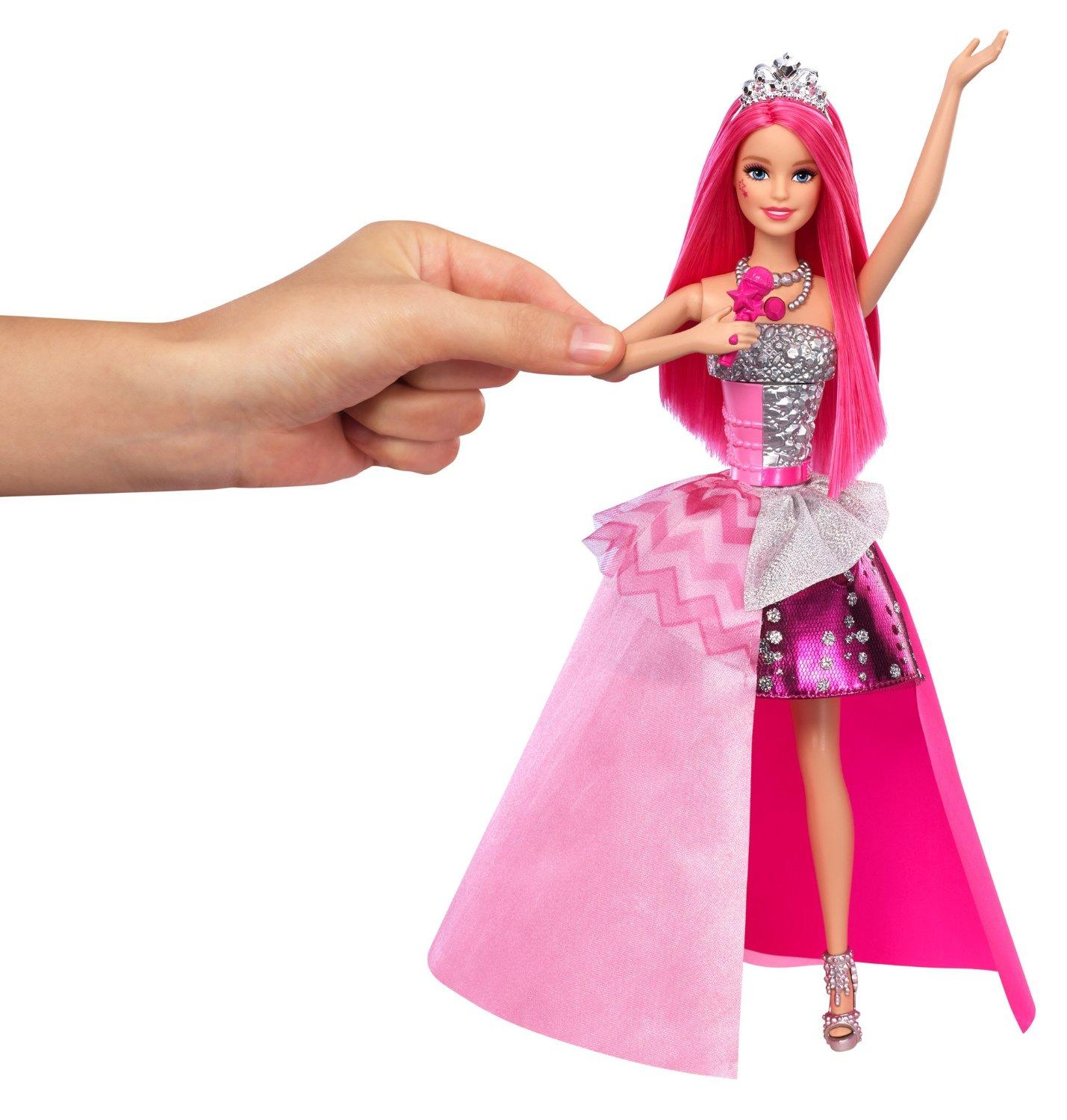 Amazon.com: Barbie in Rock 'N Royals Singing Courtney Doll