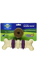 bone interactive dog toy teeth cleaning dog