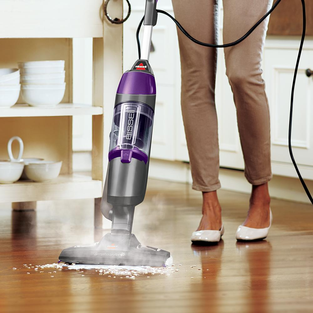 Amazon Com Bissell Symphony Pet Steam Mop And Steam