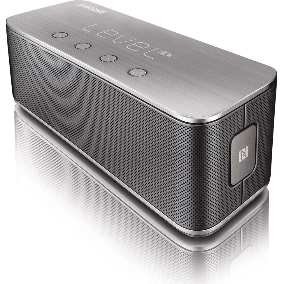 samsung level box bluetooth wireless speaker black cell phones accessories. Black Bedroom Furniture Sets. Home Design Ideas