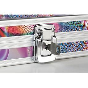 Amazon Com Vaultz Locking Acrylic Pencil Box 8 25 X 5 5