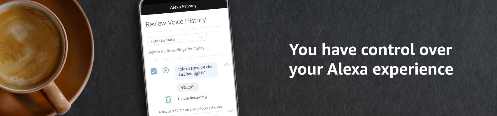 Alexa Privacy Settings | Amazon com