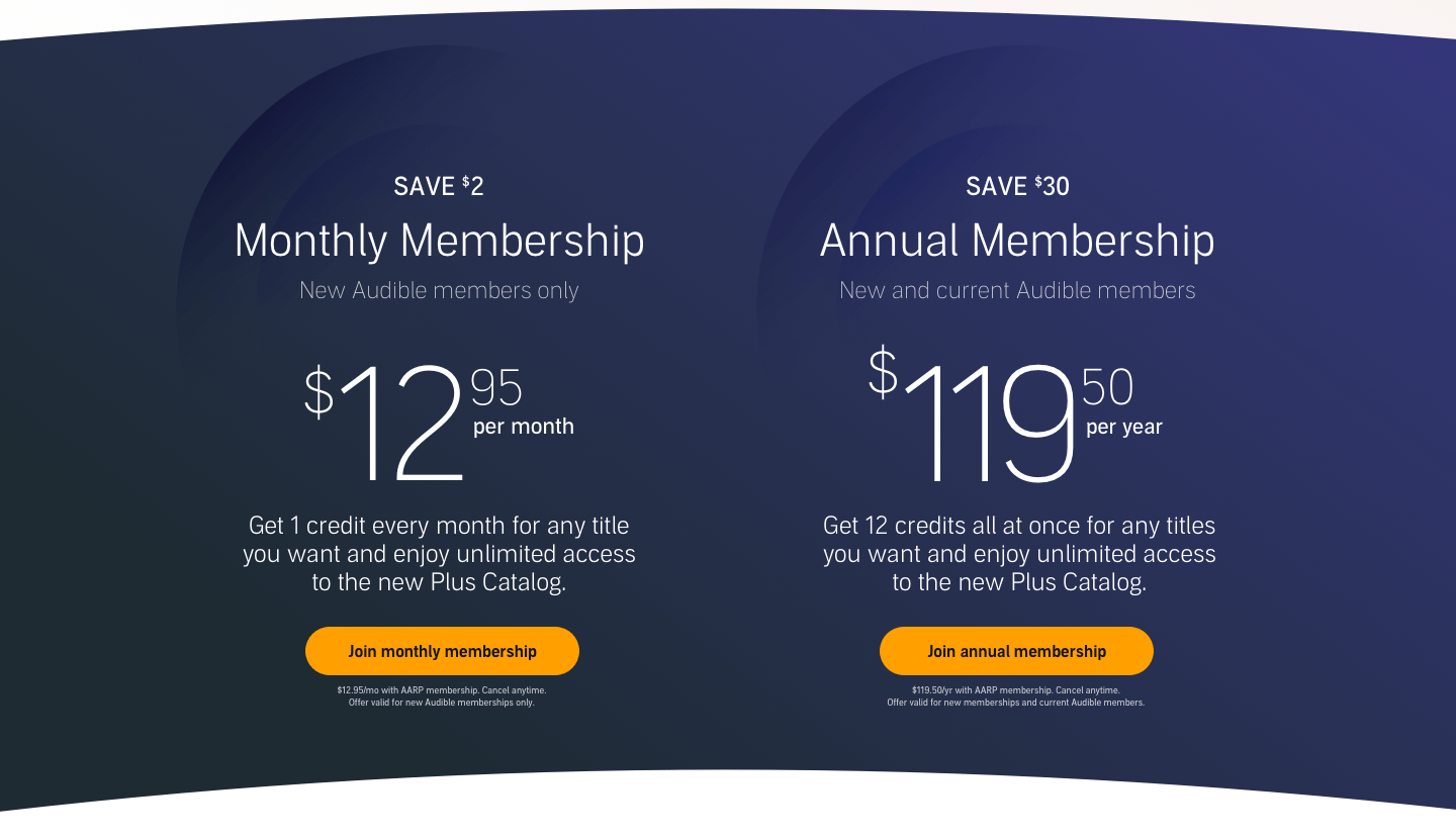 Save on a Monthly and Annual Membership