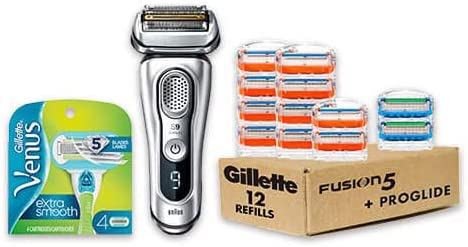 Up to 43% off on Braun, Gillette and Venus Shavers and Razors