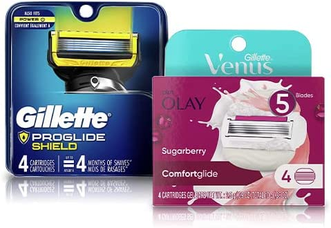 Save up to 42% on Gillette and Venus shaving essentials