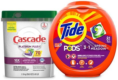 Up to 30% off Tide, Cascade, and Downy household items