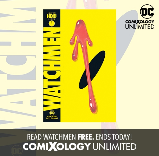 Read Watchmen With comiXology Unlimited!