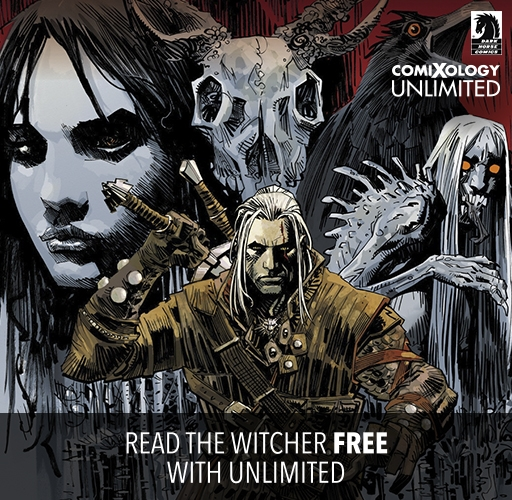 Read The Witcher Free With comiXology Unlimited!