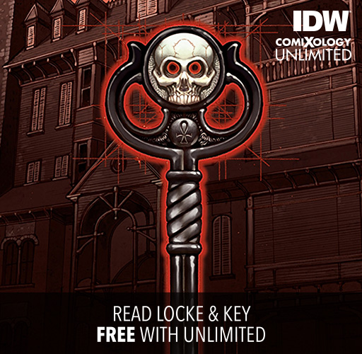 Read Locke & Key Free With comiXology Unlimited!