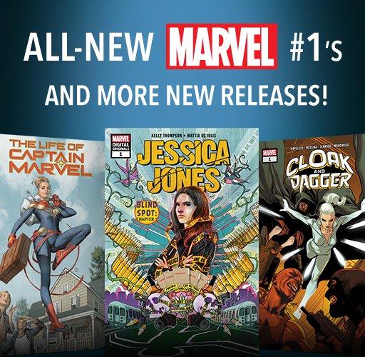 All-New Marvel #1s