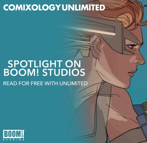 BOOM! on comiXology Unlimited!