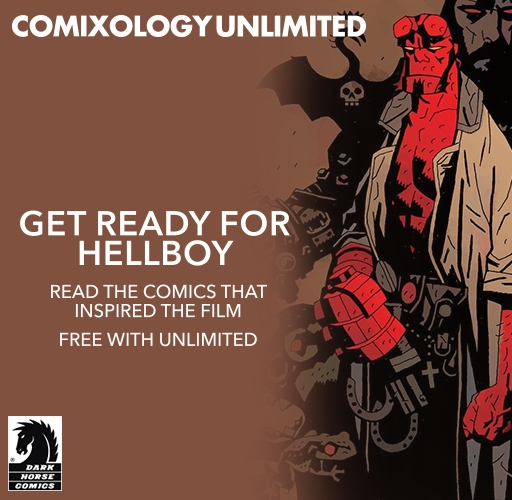 Hellboy on comiXology Unlimited