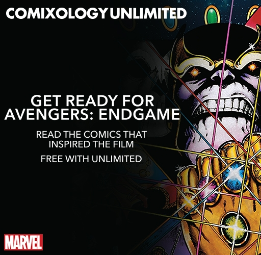 Avengers on comiXology Unlimited