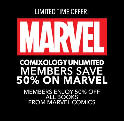 50% Off Marvel for comiXology Unlimited Members!