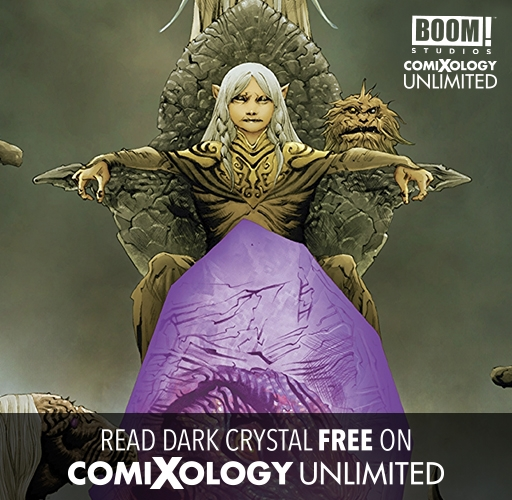 Dark Crystal on comiXology Unlimited!