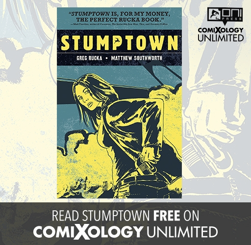 Stumptown on comiXology Unlimited!