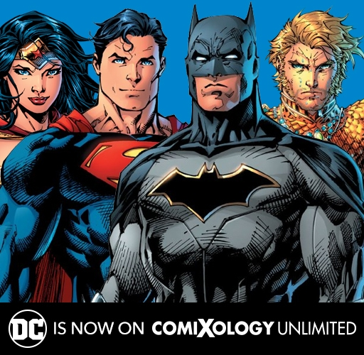 DC on comiXology Unlimited!