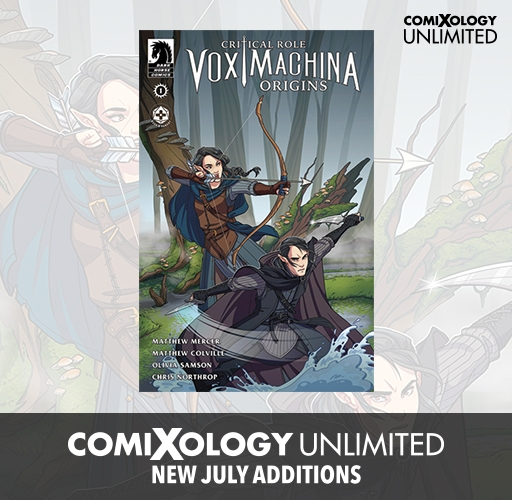 New on comiXology unlimited