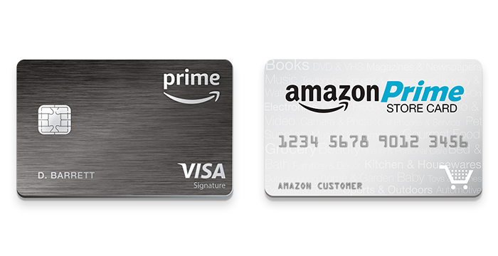 Exclusive Amazon Prime Card offers