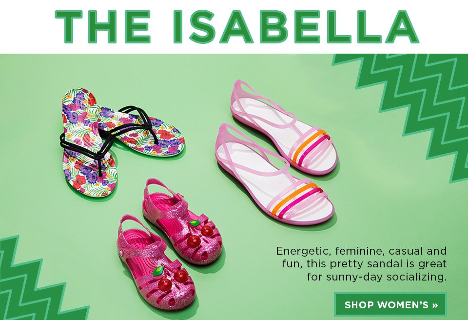 The Isabella: Shop Women's