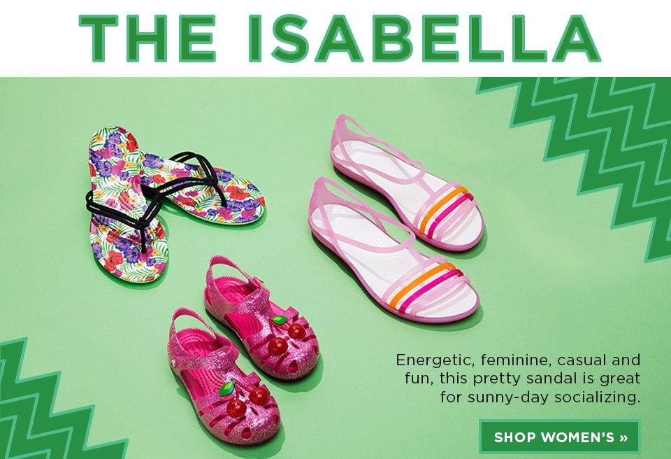 The Isabella: Shop Women's