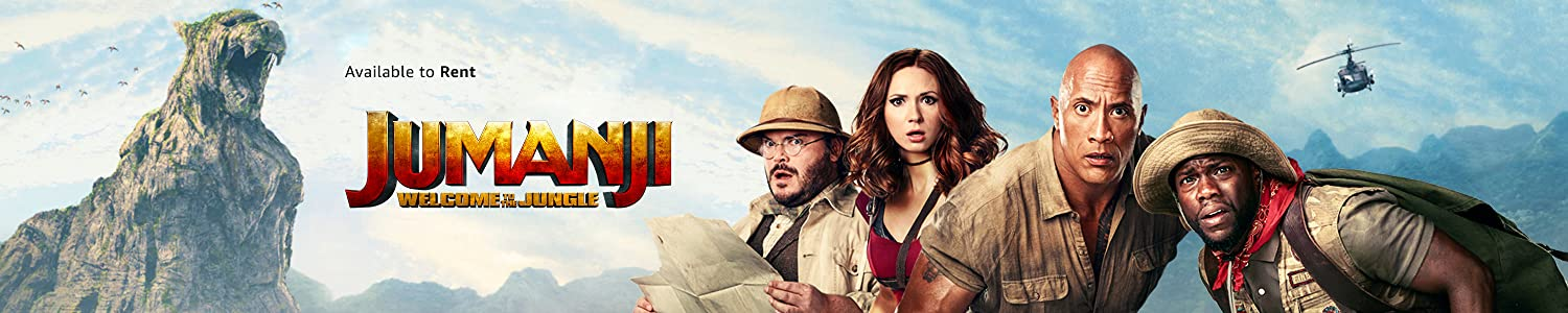 Jumanji: Welcome to the Jungle available to rent