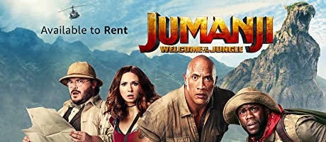 Jumanji: Welcome to the Jungle available to buy