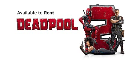 Deadpool 2 available to rent