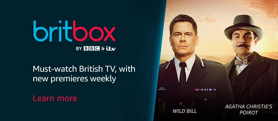 The biggest streaming collection of British TV...ever