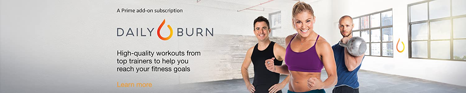 Daily Burn – High quality workouts from top trainers to help you reach your fitness goals