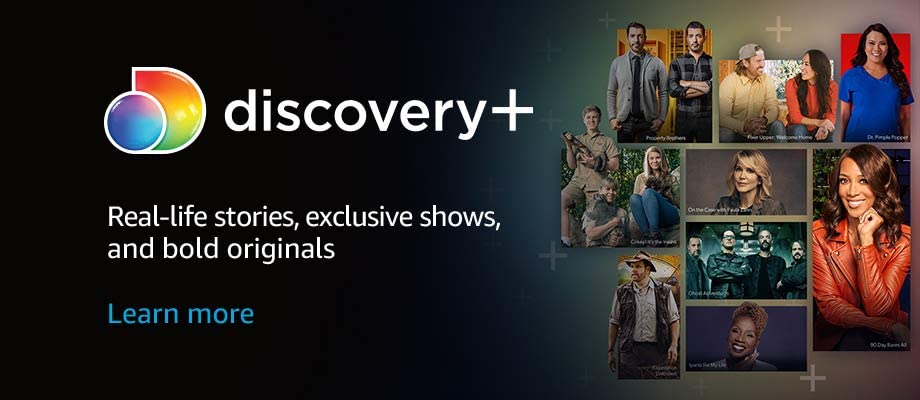 Real-life stories, exclusive shows, and bold originals.