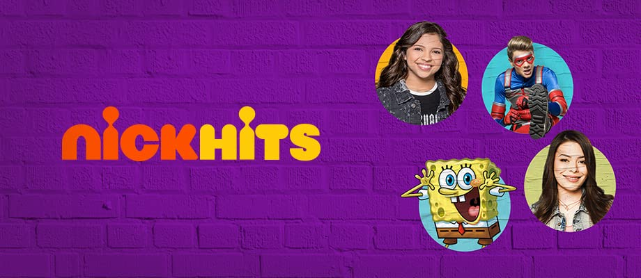 More than 1000 kid-approved episodes from hit Nickelodeon series