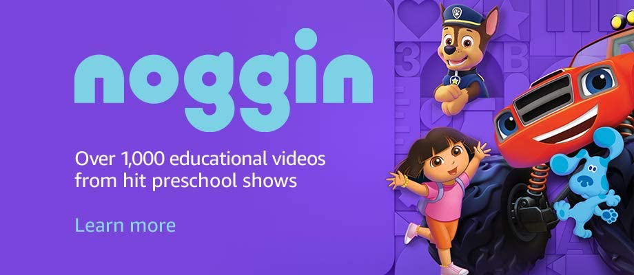 Over 1,000 educational videos from hit preschool shows